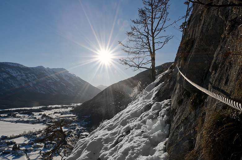 24. Feber 2017 | Leite Klettersteig im Fasching