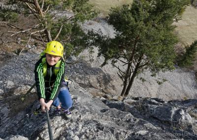 Leite Klettersteig mit Katja und Daniel
