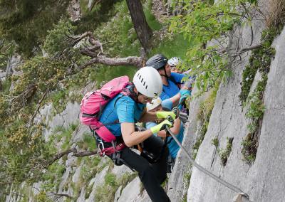 LEITE Klettersteig mit Freunden