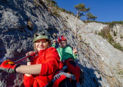 Leite Klettersteig Marina Chris